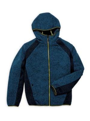 Boy's Fleece Zip Hoodie...