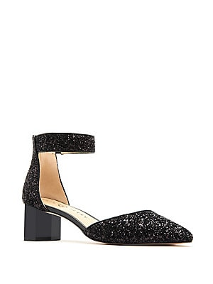 dfe915fcaf Lord & Taylor - Madia Scalloped Cutout Suede Pumps - lordandtaylor.com