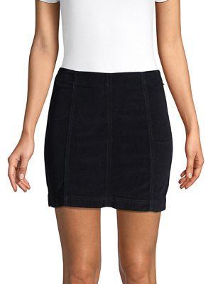Corduroy Mini Skirt 500088624097