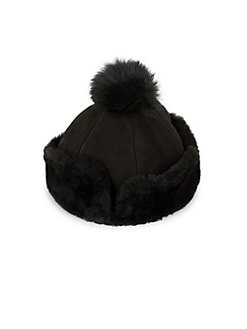 38e81c60731c4 Product image. QUICK VIEW. Ugg. Shearling Fur Pom Hat