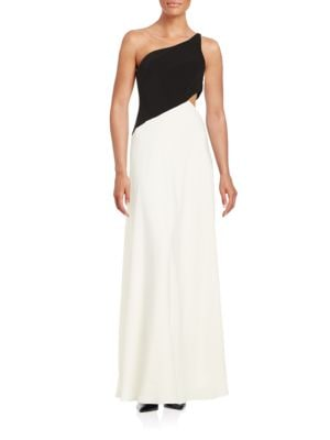 One-Shoulder Cutout Gown by Jill Jill Stuart