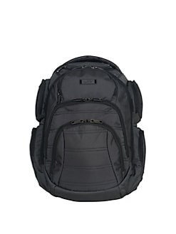 70742bce27 QUICK VIEW. Kenneth Cole REACTION. Dual Compartment Multipocket Computer  Business Backpack