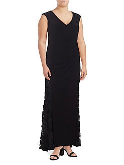 ea1e223e020 Women Extended Sizes Plus Size Dresses Jumpsuits Evening. Lord And Taylor  ...