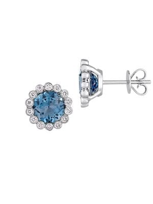 London-Blue Topaz, Diamond...