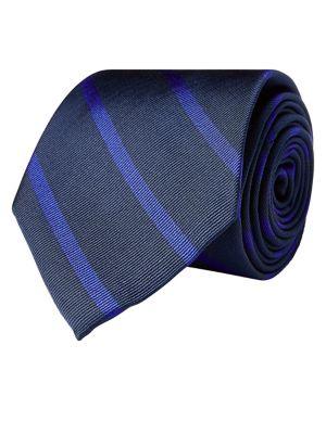 Classic Stripe Silk Tie...