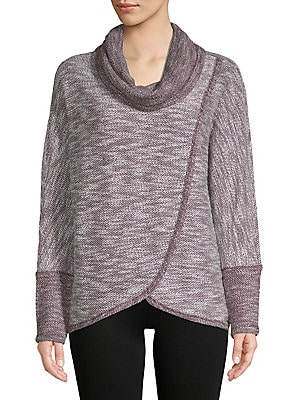 1c4878e253fa3 Calvin Klein Performance - Asymmetrical-Hem Sweater