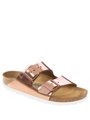 Image of Arizona Double-Strap Slides Sandals