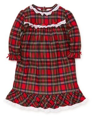 Baby Girl's Plaid Nightgown...