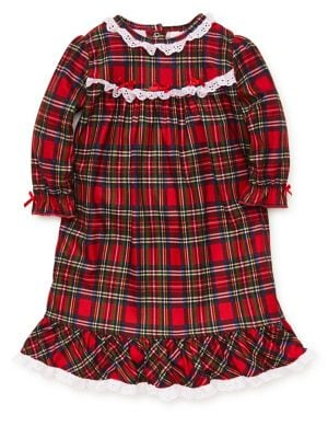 Little Girl's Plaid Nightgown...