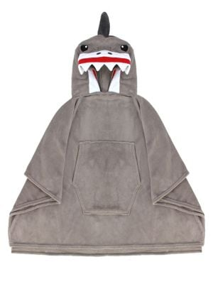 Scary Shark Hooded Poncho...