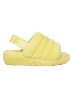 4ba45459be9 Ugg - Fluff Yeah Sheepskin Slingback Slippers - lordandtaylor.com