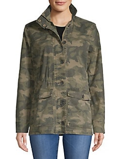 292bd6b59c3 QUICK VIEW. Lucky Brand. Camo Printed Jacket