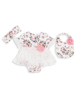 Baby Girl's Three-Piece...