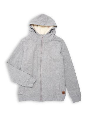 Boy's Zip Hoodie @...