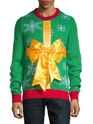 Holiday Present Bow Sweater...