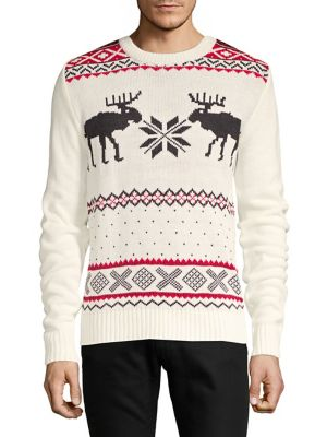 Deer Holiday Sweater...