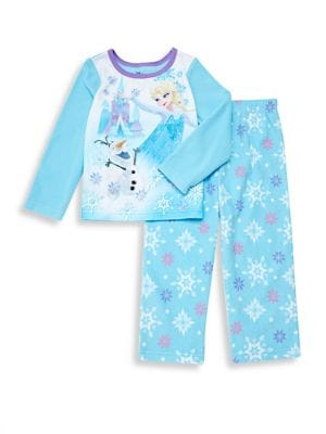 Baby Girls TwoPiece FrozenPrint Pajama Set