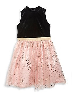 53e2a479bda QUICK VIEW. Zunie. Girl s Sleeveless Velvet Sequined Dress