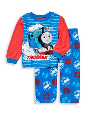 Baby Boys TwoPiece Thomas Train Pajama Set