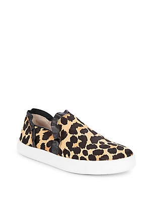 b7ed4042a21d Kate Spade New York - Lily Leopard Print Hair Calf Slip-On Sneakers -  lordandtaylor.com
