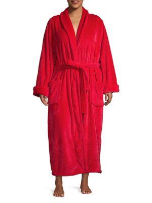 Plus Long Plush Robe...