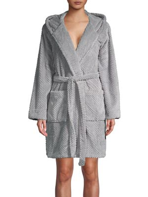 Fleece Wrap Robe @...