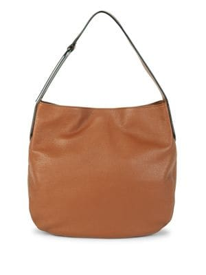 Ada Leather Hobo Bag...