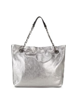 Alice Metallic Leather...