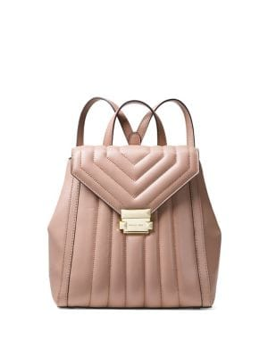 Whitney Quilted Leather...