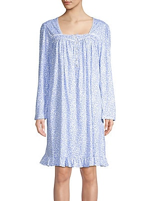 Eileen West - Floral Short Nightgown 0b42378e6
