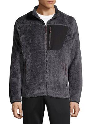 Teddy Fleece Zip Jacket...