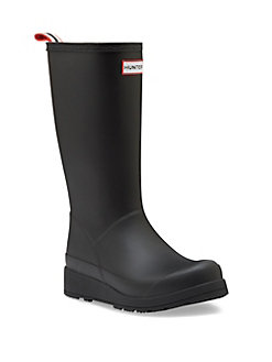 Hunter Boots with Wedge