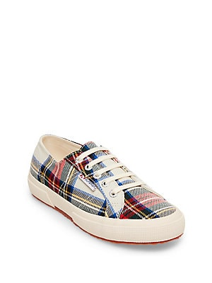 d6a566839866 Superga - 2750 Tartan Lace Up Sneakers - lordandtaylor.com