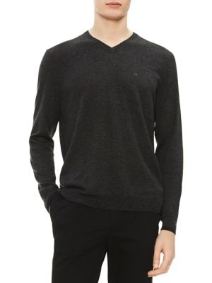 V-Neck Merino Sweater...