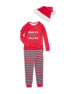 Kid's Three-Piece Santa's...