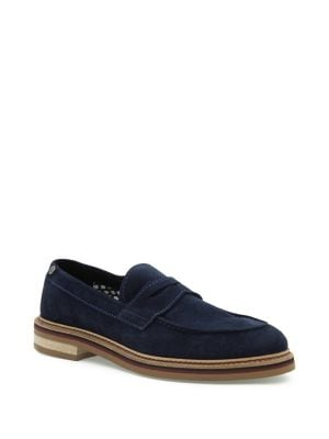 Maxwell Suede Penny Loafers...