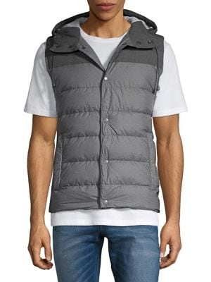 Quilted Puffer Vest @...
