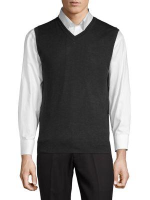Classic Merino Wool Vest...