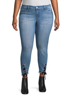 Plus Kiss Me Ankle Jeans 500088678056