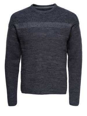 Textured Crewneck Sweater...
