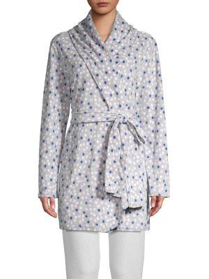 Printed Long Sleeve Robe...