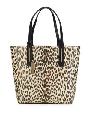 Fran Leopard Print Leather...