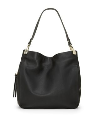Clem Leather Hobo Bag...