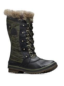 48b9edd7ea66 QUICK VIEW. Sorel. Tofino II Faux Fur-Trimmed Camo Canvas Boots
