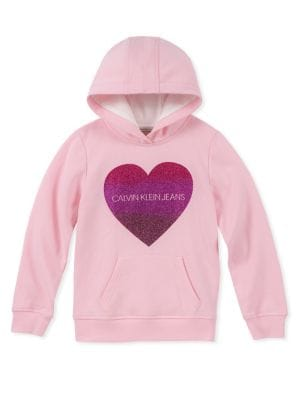 Girl's Sparkle Logo Hoodie...