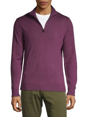 Quarter-Zip Merino Sweater...