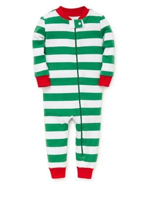 Baby Boy's Striped Cotton...