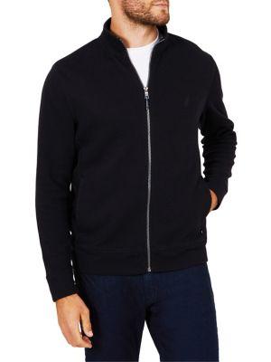 Full-Zip Cotton Jacket...