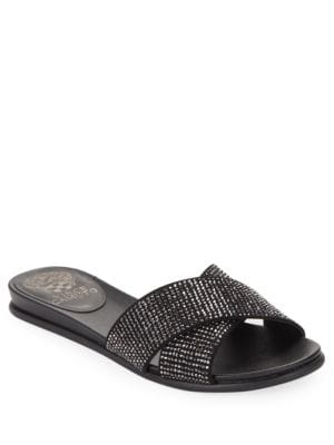 Engle Glitter Sandals by Vince Camuto