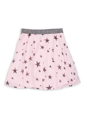 Girl's Star-Printed Ballerina...